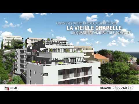 """OGIC présente un nouveau programme,  """"Azuréo"""" à Marseille 8ème (Pointe Rouge)"""