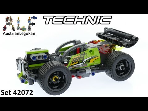 Vidéo LEGO Technic 42072 : TOUT FEU !