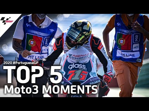 Moto3 ポルトガルGP 決勝レースハイライト動画