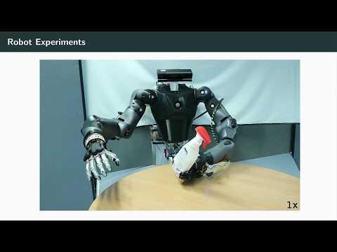 Roboter lernen noch das Greifen und Gehen