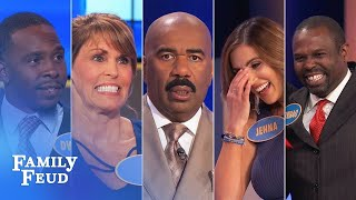 Family Feud's BEST BLOOPERS and EPIC FAILS!!! | Part 6 - dooclip.me