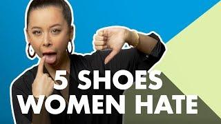 5 Mens Shoe Styles Women Hate