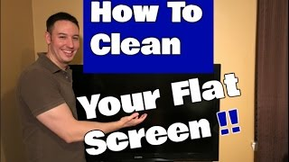 How To Clean a Flat Screen TV | LED, LCD Or Plasma