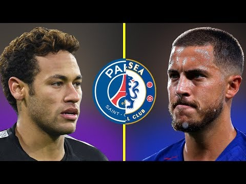 Neymar JR VS Eden Hazard - Who Is The Best? - Amazing Dribbling Skills - 2018