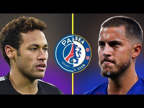 Neymar JR VS Eden Hazard - Who Is The Best? - Amazing Dribbling Skills - 2018