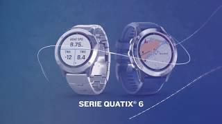 Garmin Presentación serie quatix® 6 anuncio