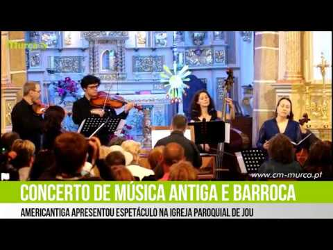 Americantiga apresentou concerto na Igreja Paroquial de Jou