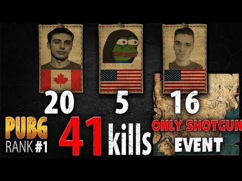 散彈槍模式 : Shroud 一隊 殺 41人