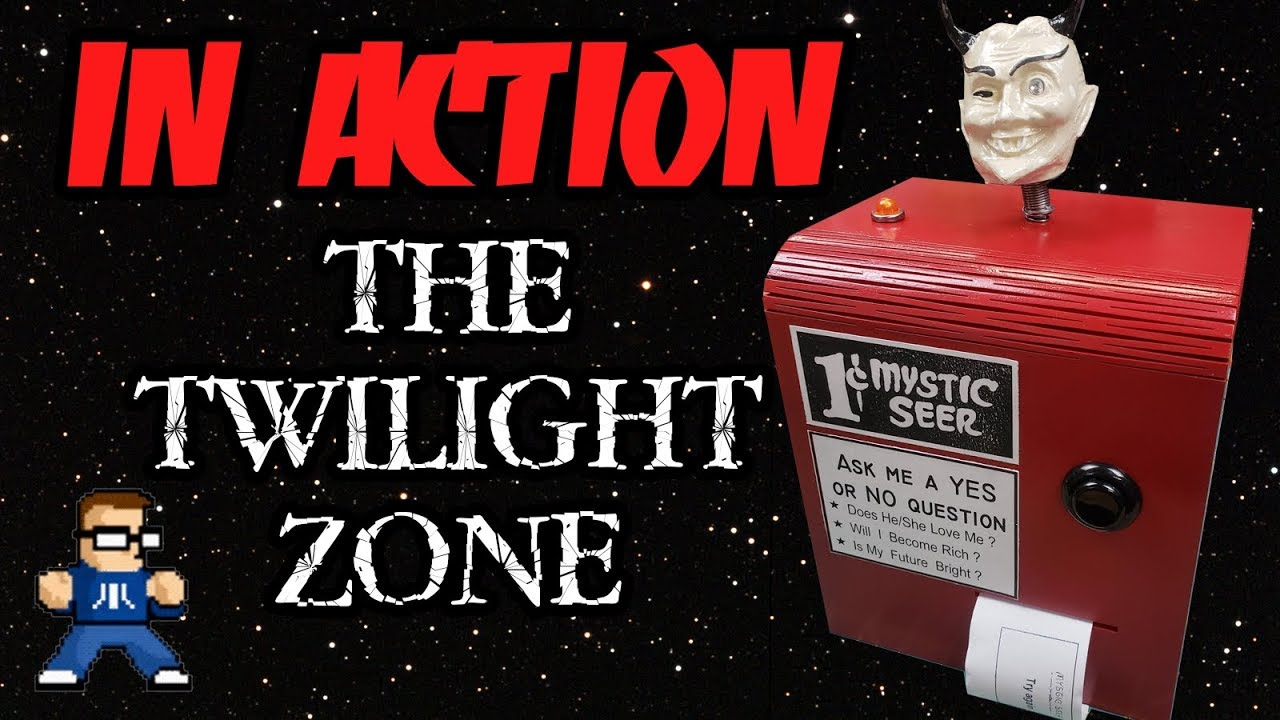 The Twilight Zone Mystic Seer In Action