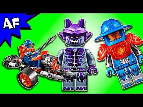 Vidéo LEGO Nexo Knights 70347 : L'artillerie de la garde du roi