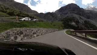 preview picture of video 'Stelvio pass june 2013'