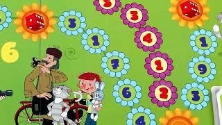 Игра-ходилка настольная детская «Простоквашино. Счет до 10», игровое поле, фишки, карточки, ЗВЕЗДА, 8682