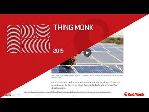 ThingMonk 2015: Tom Raftery – IoT and Energy. Solving Planet Scale Problems with IoT