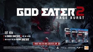 GOD EATER 2 Rage Burst video