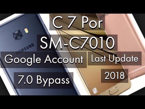 Samsung Galaxy C7 SM-C7000 Android 8 Binary U3 FRP ByPass