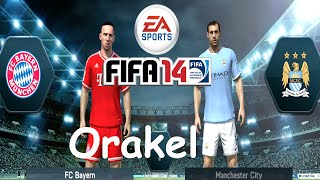preview picture of video 'Let´s Play FIFA 14 Orakel - FC Bayern München vs. Manchester City [PS4]'