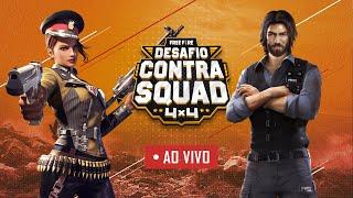 Desafio Contra Squad | Free Fire | Dia 1