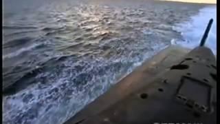 """Самая большая в мире атомная ракетная подводная лодка """"Дмитрий Донской"""" проекта 941 """"Тайфун"""""""