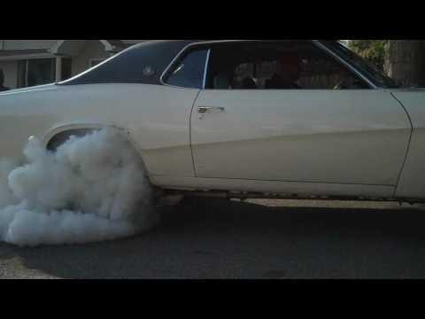 1970 Mercury Cougar Burnout