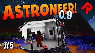 Huge ABANDONED BASE Discovery! | ASTRONEER 0.9 gameplay ep 5