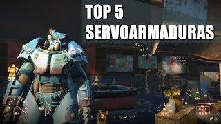 FALLOUT 4 | TOP 5 SERVOARMADURAS
