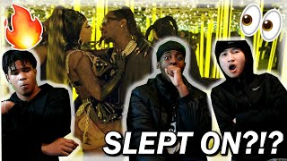 CARDI B GETS FREAKY!!! OFFSET, CARDI B   CLOUT OFFICIAL MUSIC VIDEO REACTION!!!