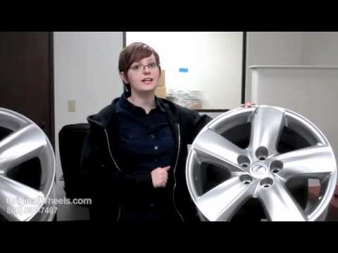 GS 460 Rims & GS 460 Wheels - Video of Lexus Factory, Original, OEM, stock new & used rim Co.