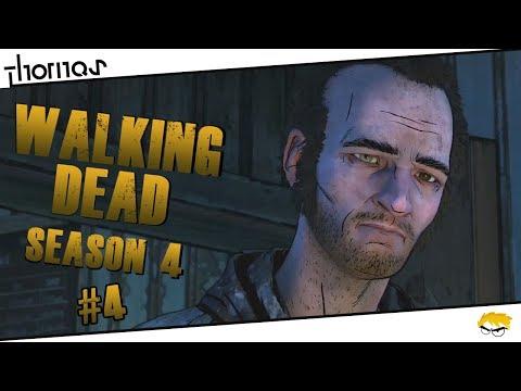 The Walking Dead 4 - |#04| - Starý (ne)přítel? | Český Let's Play | Částečný překlad