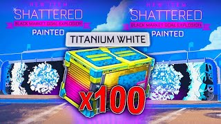 The BEST Totally Awesome Crate Opening On YouTube... | 100 Totally Awesome Crates In Rocket League!