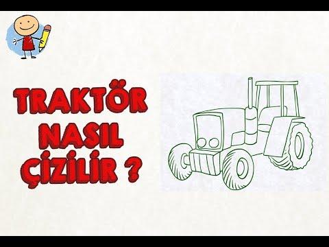 Remix Traktör Nasıl çizilir çocuklar Içim çizim Dersi çizim
