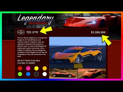 GTA 5 Progen T20 GTR Super Car With NEW Customization, Upgrades, Performance & MORE! (GTA V)