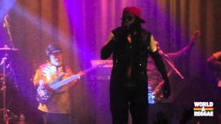 Tarrus Riley - Birthday Cake / Africa Await-  Melkweg Amsterdam April 26, 2012