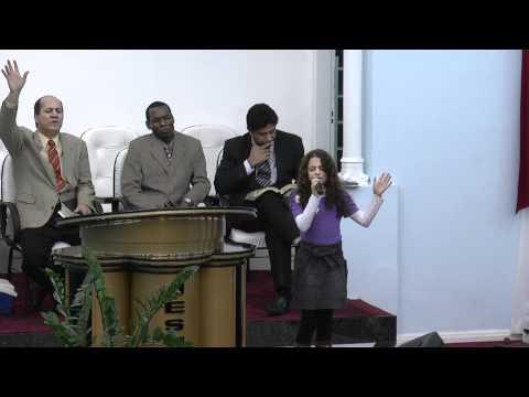Raissa Louvando - Assembléia de Deus em Tupã