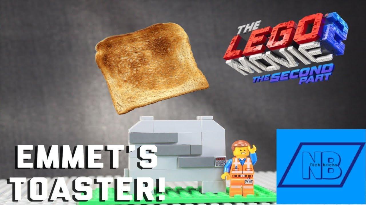 The Lego Movie 2 MOC Build Emmets Toaster!