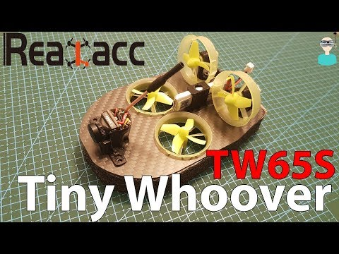 Realacc Tiny Whoover TW65S FPV Hovercraft - Build & Review