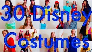 30 DIY Disney Costumes