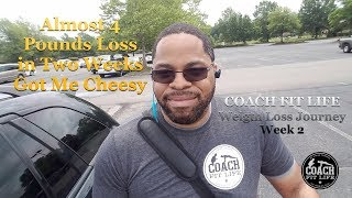 COACH FIT LIFE - Weight Loss Journey Week 2 | Down 3.6 Pounds