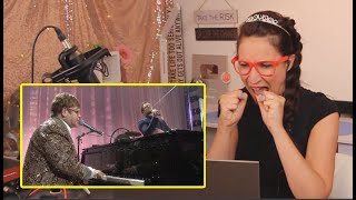 Vocal Coach REACTS To Elton John & Taron Egerton   'Tiny Dancer'