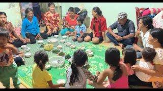 Ăn cơm gia đình cùng Cô Chú Anh Chị - Hương vị đồng quê - Bến Tre