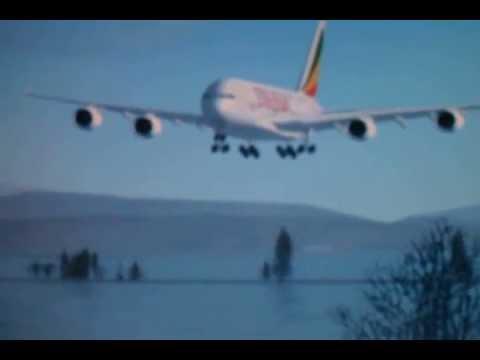 Ethiopian Airlines A380 Landing (FSX)