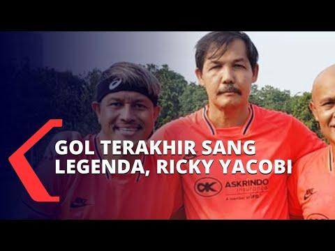 video amatir ricky yacobi ditandu di lapangan sempat cetak gol terakhir