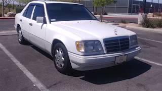Купили почти новый Mercedes (w124) e320 за 4000 долларов в Америке ( part 2)