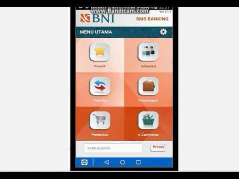 Cara cek saldo via Bni Sms Banking