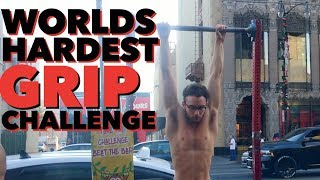 SPINNING BAR CHALLENGE: HANG 2 MINUTES, WIN $100!