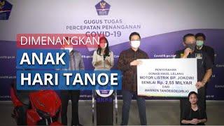 Warren, Anak Hary Tanoesoedibjo Menangkan Lelang Motor Listrik Bertanda Tangan Presiden Jokowi