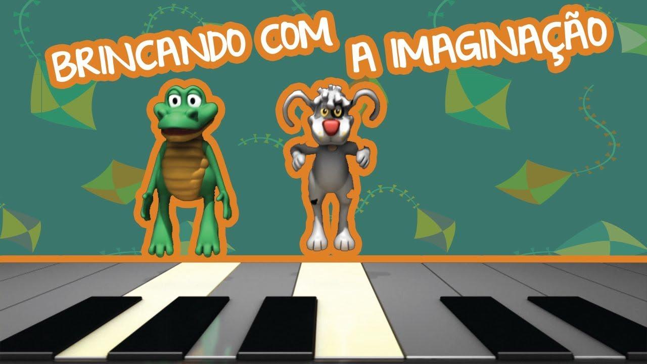 BRINCANDO COM A IMAGINAÇÃO | BEBÊ MAIS CANTIGAS