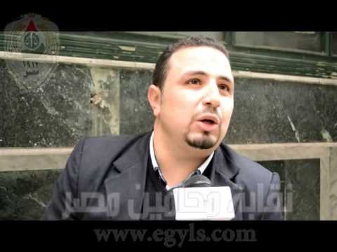 بهاء الدين زعفان محامى مرشح مركز أبو النمرس بالجيزة