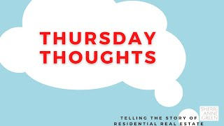 Introducing Thursday Thoughts