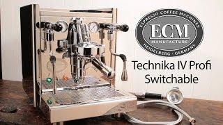 In-Depth: ECM Technika IV Profi Switchable Espresso Machine