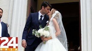 JUST MARRIED! Vedran Ćorluka and Franka Batelić
